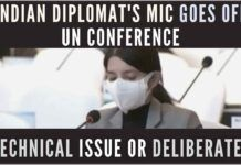 India voiced its concern about China's CPEC project at UN Sustainable Transport Conference, where Indian diplomat's mic mysteriously went silent