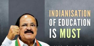 VP Venkaiah Naidu urges people to get out of the colonial history & mindset, return to Indian culture roots, which is greatest in the world