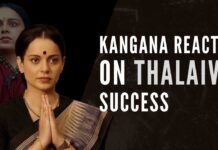 4-time National Award Winner Kangana has been receiving appreciation for her efforts and performance for the Thalaivi movie