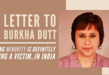 Burkha, you don't have to use minority card or victim card, if you think about yourself & your community, it stands to reason you'd end up using that VICTIM card!!