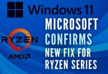 Microsoft said until the new update arrives it won't be pushing Windows 11 to AMD Ryzen-powered devices