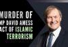 Murder of the British lawmaker David Amess was declared a terrorist incident by London's metropolitan police with an investigation underway