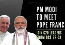 Prime Minister Modi to combine Politics with Papal visit