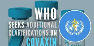 The clarifications are sought to conduct a final risk-benefit assessment for Emergency Use Listing of Covaxin
