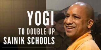 CM Yogi has sent a proposal to Centre to set up a Sainik School in every division