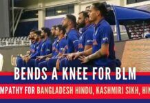 The question raised in the minds of millions of people is the Indian cricket team being selective in its outrage?