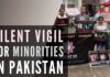 Silent vigil was held in various places across the UK with an appeal to stop violence against Hindus and other minorities in Pakistan